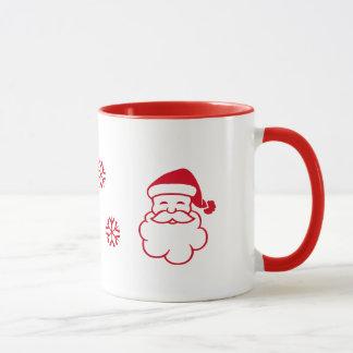 HO! HO! HO! Weißes Rot Tasse