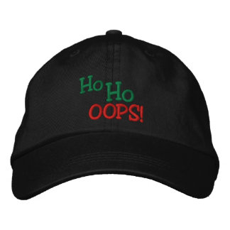 Ho Ho OOPS! Stickerei Bestickte Kappe