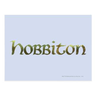 HOBBITON™ gemasert Postkarte