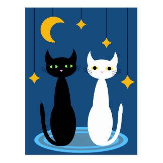 Hobbs u. Luna Postkarte