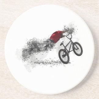 Hobby des Fahrrad-BMX Getränkeuntersetzer