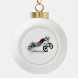 Hobby des Fahrrad-BMX Keramik Kugel-Ornament