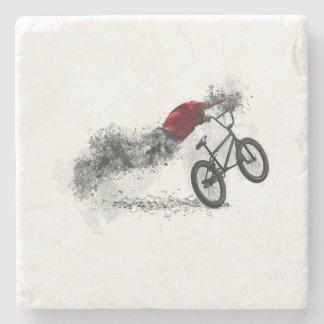 Hobby des Fahrrad-BMX Steinuntersetzer