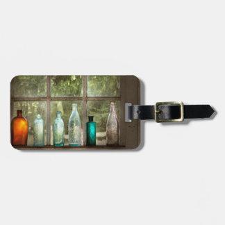 Hobby - Flaschen - es ist ganz über das Glas Gepäckanhänger