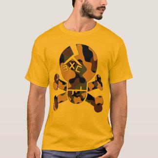 "Hobelspäne-""Camouflage-Knochen"" T-Stück T-Shirt"