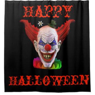 Hobo der schlechte Clown (glückliches Halloween) Duschvorhang