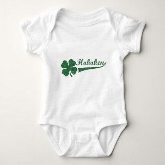 Hoboken NJ Kleeblatt Baby Strampler