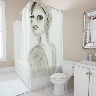 Hoch entwickelte Prallplatte Duschvorhang