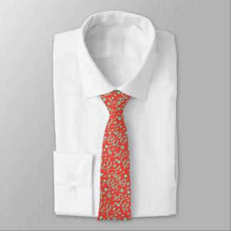 Hoch entwickelte rote Party-/Feier-Krawatte