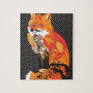 Hoch entwickelter Fox Puzzle
