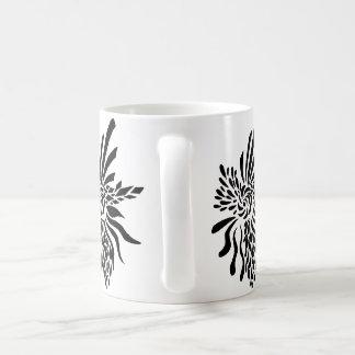 Hoch entwickeltes Fleur Kaffeetasse