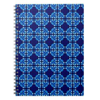 Hochauflösende Blues Notizbücher