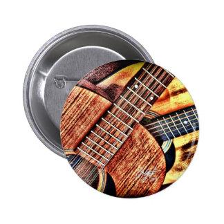 Hochauflösende Gitarren Anstecknadelbuttons