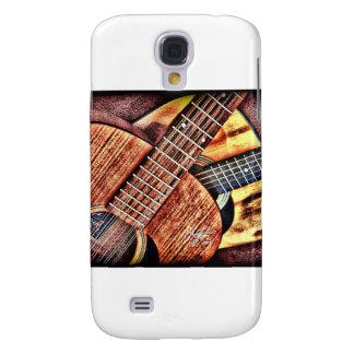 Hochauflösende Gitarren Galaxy S4 Hülle