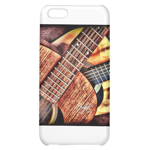 Hochauflösende Gitarren iPhone 5C Hüllen
