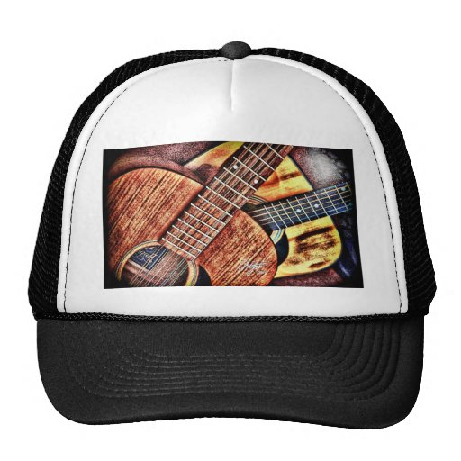 Hochauflösende Gitarren Retrocap