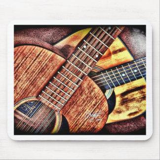 Hochauflösende Gitarren Mauspad