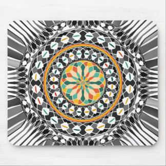 Hochauflösende Mandala Mauspad