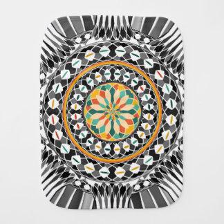 Hochauflösende Mandala Spucktuch