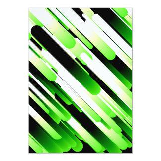 Hochauflösendes Grün 12,7 X 17,8 Cm Einladungskarte