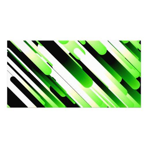 Hochauflösendes Grün Individuelle Photo Karte