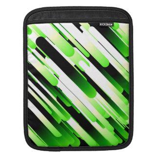 Hochauflösendes Grün iPad Sleeve
