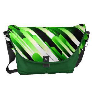 Hochauflösendes Grün Kurier Tasche