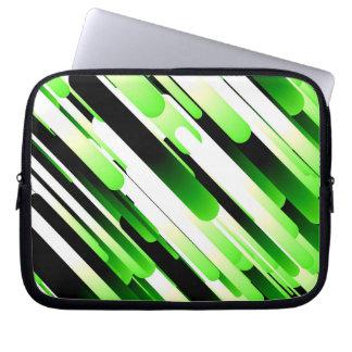 Hochauflösendes Grün Laptop Sleeve