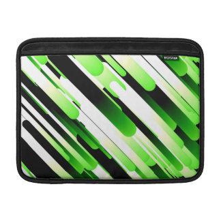 Hochauflösendes Grün MacBook Air Sleeve