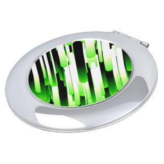 Hochauflösendes Grün Taschenspiegel