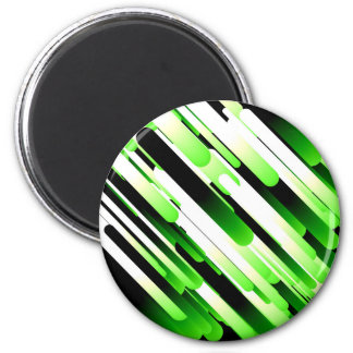 Hochauflösendes Grün Runder Magnet 5,1 Cm