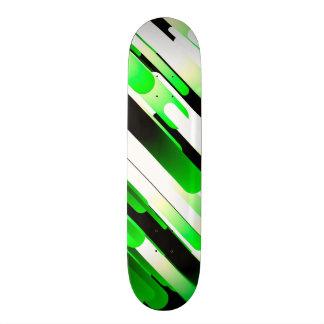 Hochauflösendes Grün Individuelle Skateboarddecks