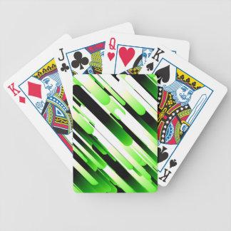 Hochauflösendes Grün Poker Karten