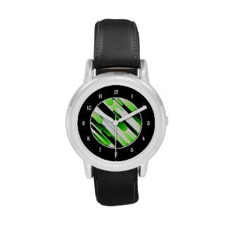 Hochauflösendes Grün Uhren