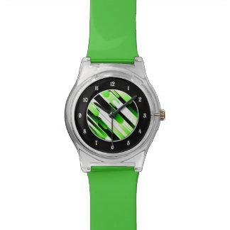 Hochauflösendes Grün Uhr