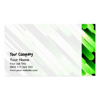 Hochauflösendes Grün Visitenkarten Vorlage