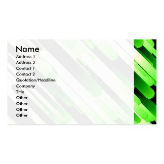 Hochauflösendes Grün Visitenkarten