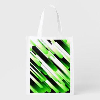 Hochauflösendes Grün Wiederverwendbare Einkaufstasche