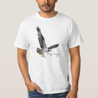 Hochfliegender Osprey-Fisch-Falke mit Shirts