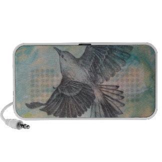 Hochfliegender Vogel-Lautsprecher
