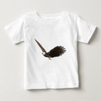 Hochfliegender Weißkopfseeadler Baby T-shirt