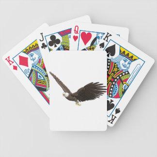 Hochfliegender Weißkopfseeadler Bicycle Spielkarten