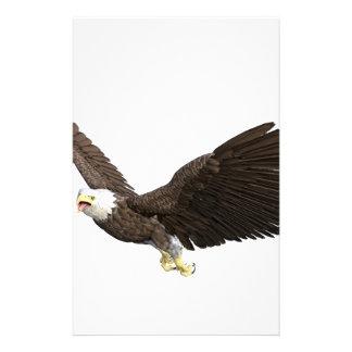 Hochfliegender Weißkopfseeadler Briefpapier