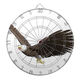 Hochfliegender Weißkopfseeadler Dartscheibe