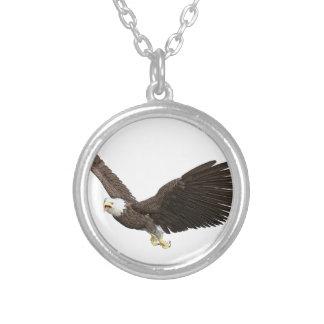 Hochfliegender Weißkopfseeadler Versilberte Kette