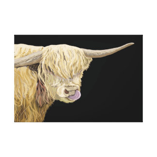 Highland Cow Head & Shoulders