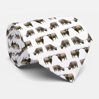 Hochland-Kuh-Raserei-Krawatte (wählen Sie Farbe) Krawatte