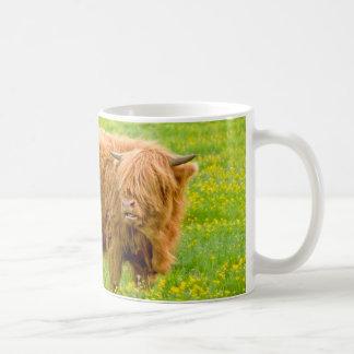 Hochland-Kuh-Tasse Tasse