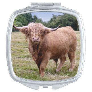 Hochland-Kuh-Vertrags-Spiegel Schminkspiegel