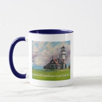 Hochland-Leuchtturm Cape Cod, MA Tasse